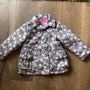 Girls London Fog fleece lined Jacket size 4